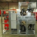 rack armoire electrique vanne voies echangeur à plaques
